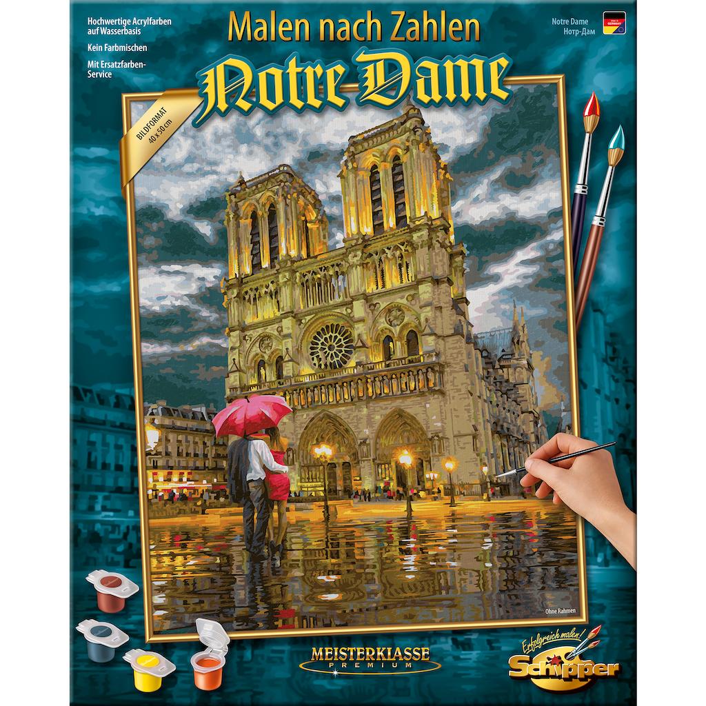 Schipper Malen nach Zahlen »Meisterklasse Premium - Notre Dame«, Made in Germany