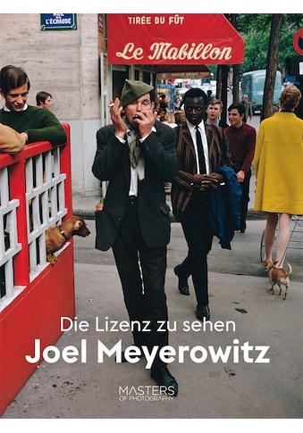 Buch »Joel Meyerowitz: Die Lizenz zu sehen / Joel Meyerowitz« kaufen