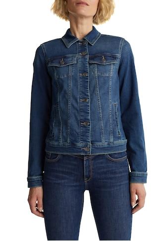 Esprit Jeansjacke, aus weichem Sweat-Denim kaufen