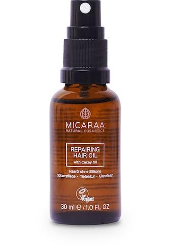 MICARAA NATURAL COSMETICS Haaröl »Travel Size ohne Silikone mit Cacay«, ohne Silikone... kaufen