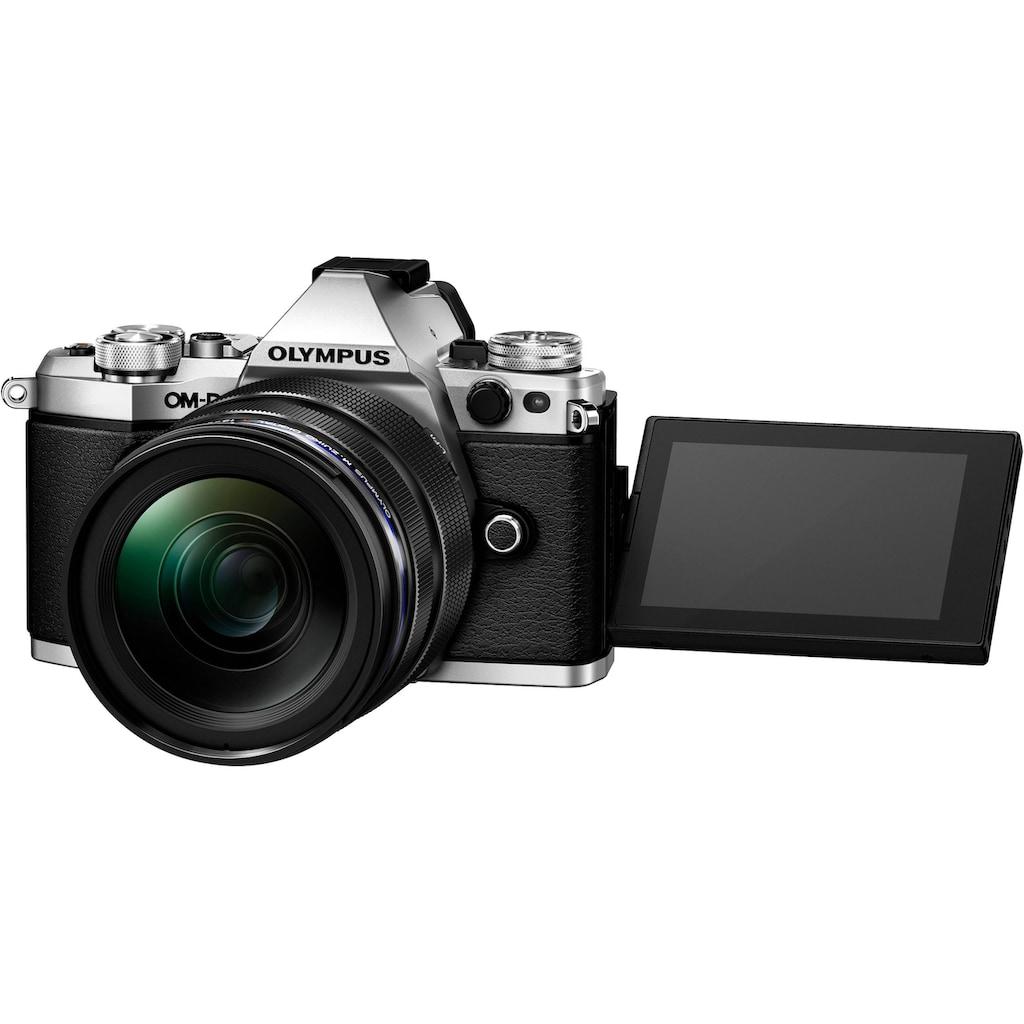 Olympus Systemkamera »OM-D E-M5 Mark II«, M.ZUIKO DIGITAL ED, 16,1 MP, WLAN (Wi-Fi), Gesichtserkennung, HDR-Aufnahme