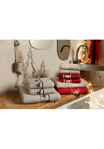 Handtuch Set, »Weihnachten«, my home (Set) kaufen