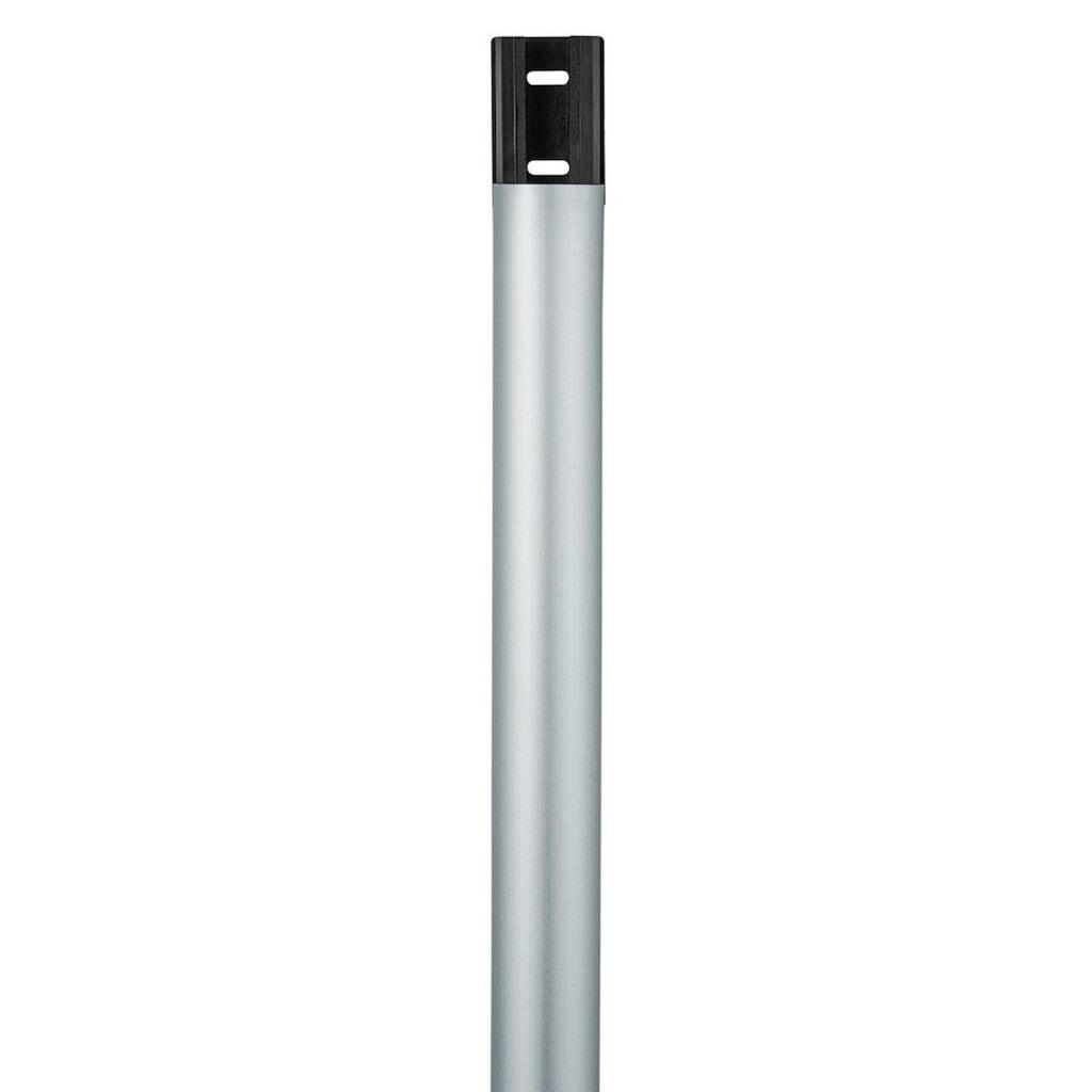 Hama Alu-Kabelkanal, halbrund, 110/3,3/1,8 cm, Silber
