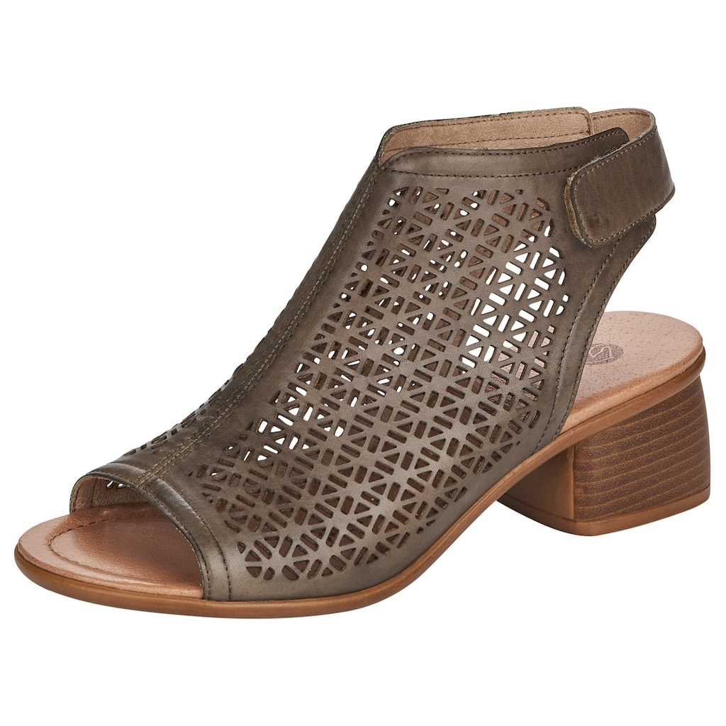 Remonte Sandalette, mit modischer Perforation