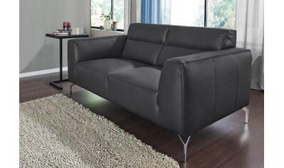 CALIA ITALIA 2-Sitzer »Soho«, in zwei Lederqualitäten kaufen