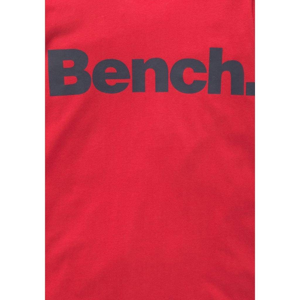 Bench. Langarmshirt, in melierter Optik