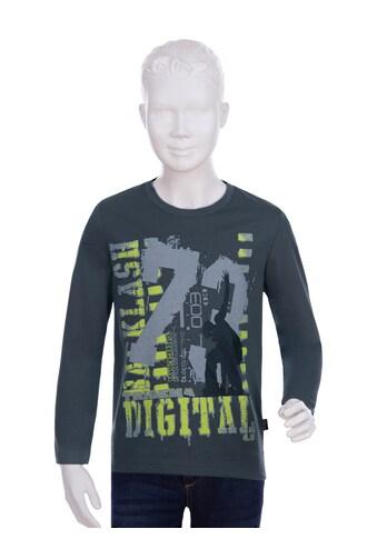 Trigema Print-Shirt, mit angesagtem Druckmotiv kaufen