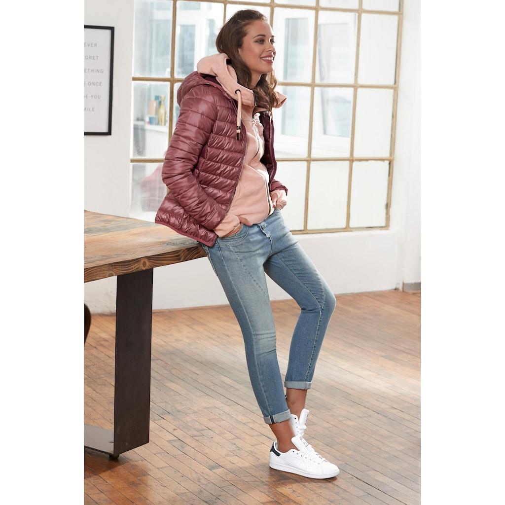 Please Jeans 5-Pocket-Jeans »P78A«, lässige Boyfriend Jeans in leichter Crinkle Optik & krempelbaren Bein