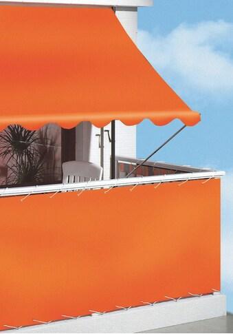 ANGERER FREIZEITMÖBEL Klemmmarkise orange, Ausfall: 150 cm, versch. Breiten kaufen