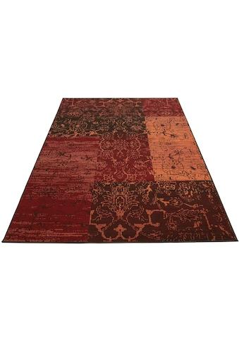 my home Teppich »Bennet«, rechteckig, 7 mm Höhe, Vintage Design, Wohnzimmer kaufen