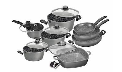 STONELINE Topf-Set, Aluminiumguss, (Set, 13 tlg.), Induktion kaufen