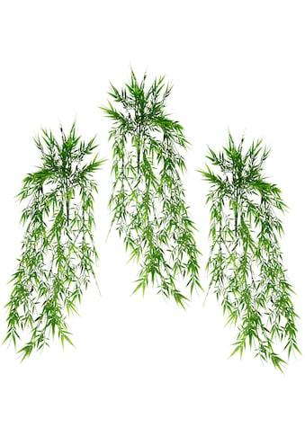I.GE.A. Kunstpflanze »Bambushänger«, 3er Set kaufen