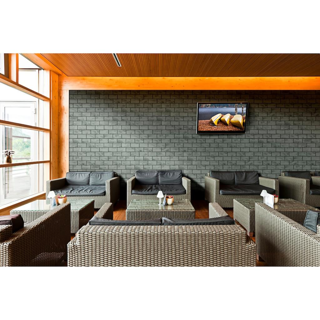 ELASTOLITH Verblender »Madagaskar«, grau, für Außen- und Innenbereich, 5 m²
