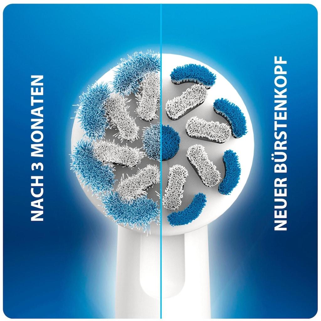 Oral B Elektrische Zahnbürste »PRO 2 2000«, 1 St. Aufsteckbürsten, Sensi Ultra Thin Blue