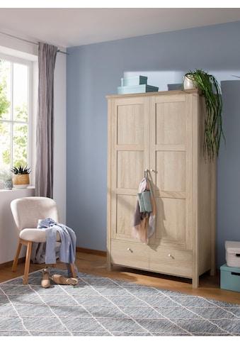 Home affaire Kleiderschrank »Margaret«, mit Einlegeboden und Kleiderstange hinter die... kaufen