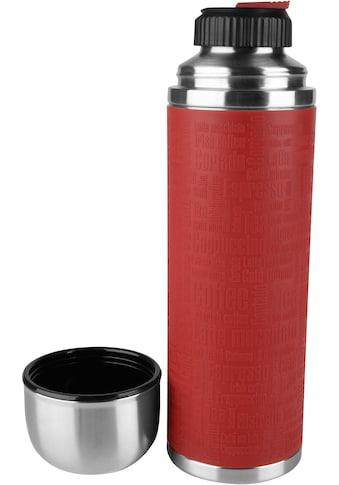 Emsa Isolierflasche »515715 Senator, 1 Liter«, Safe Loc-Verschluss, 100% dicht und auslaufsicher, 18/10 Edelstahl kaufen