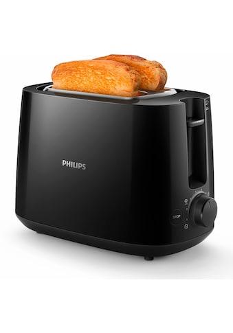 Philips Toaster »HD2581/90, glänzend«, 830 Watt kaufen