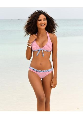 s.Oliver Beachwear Bügel-Bikini-Top »Jill«, mit Mustermix kaufen