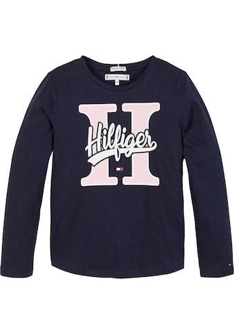 TOMMY HILFIGER Langarmshirt »VARSITY« kaufen