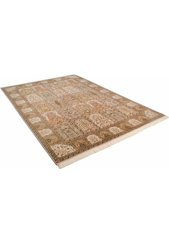 THEKO Orientteppich »Baktyari K«, rechteckig, 12 mm Höhe, Flor aus 30% Seide,... kaufen