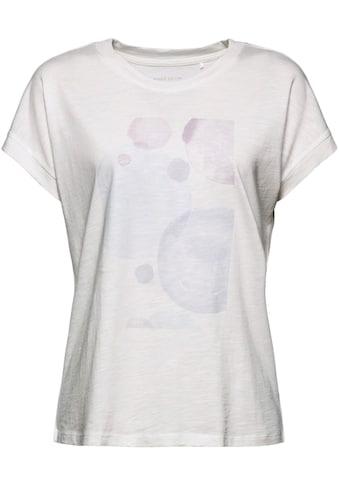Esprit Kurzarmshirt, mit ästhetischem Print vorne kaufen