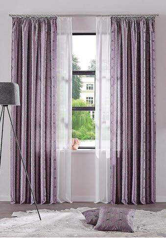 my home Gardine »Malin«, Farbe: Wollweiss kaufen
