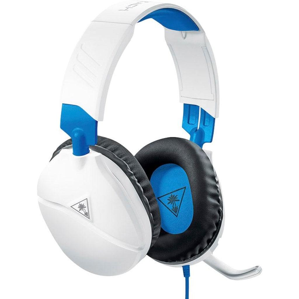 Turtle Beach Gaming-Headset »RECON 70 P für PS4 Pro und PS4 (White)«