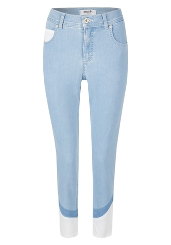 ANGELS Ankle-Jeans,Ornella' mit farblich abgesetzten Beinsäumen kaufen