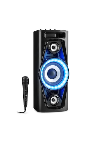 Auna Audiosystem Lautsprecher Akku BT USB MP3 AUX UKW Gitarreneingang »PPS 35« kaufen
