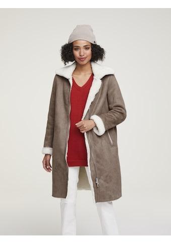 Mantel in Lammfell - Optik kaufen