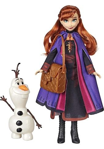 """Hasbro Anziehpuppe """"Die Eiskönigin II, Anna mit Olaf und Tasche"""" kaufen"""