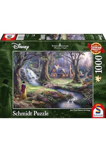 Schmidt Spiele Puzzle »Disney, Schneewittchen«, Made in Germany kaufen