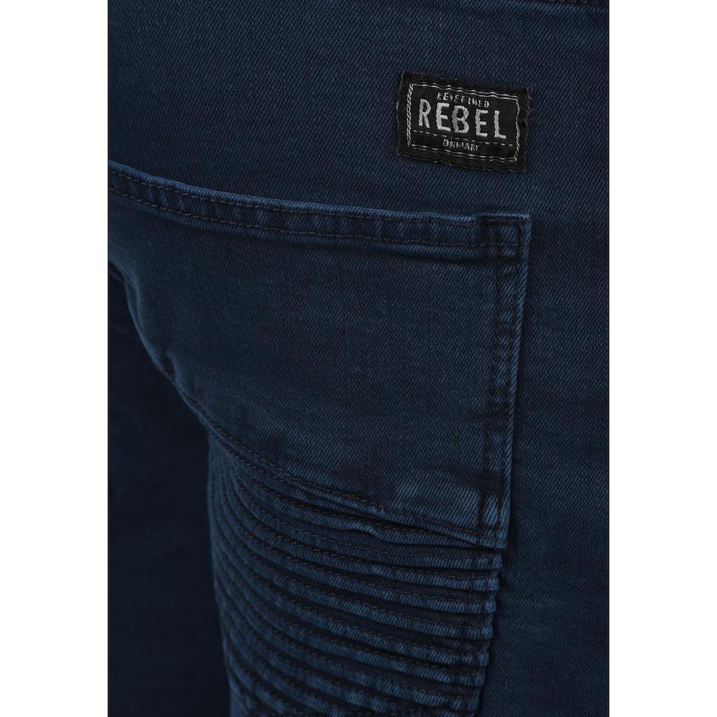 REDEFINED REBEL Jeansshorts »Matisse«, kurze Hose mit Biker-Details
