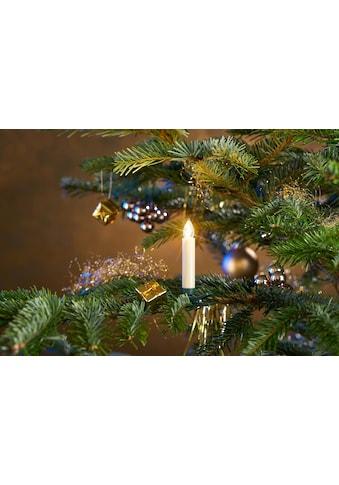 BONETTI LED-Christbaumkerzen, kabellos, 25 Kerzen inklusive Zubehör für Fenster- und... kaufen
