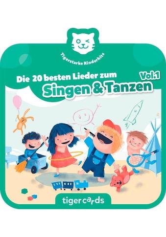 tigerbox Hörspiel, »Die 20 besten Lieder zum Singen & Tanzen« kaufen