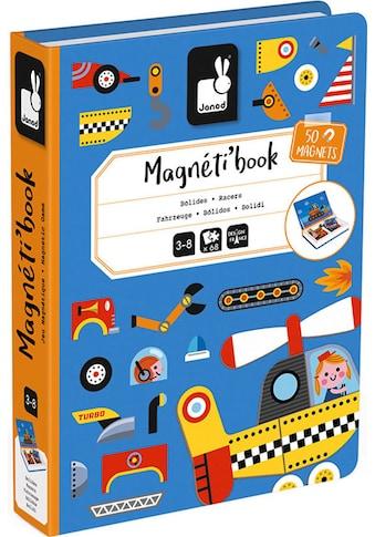 Janod Lernspielzeug »Magnetbuch - Fahrzeuge«, FSC®-Holz aus gewissenhaft... kaufen