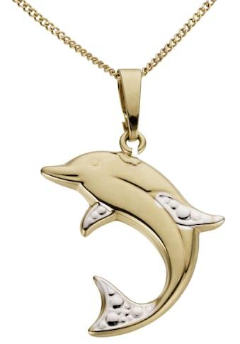 Firetti Kettenanhänger »Delfin, glänzend, in teilweise rhodinierter Optik«, Made in... kaufen