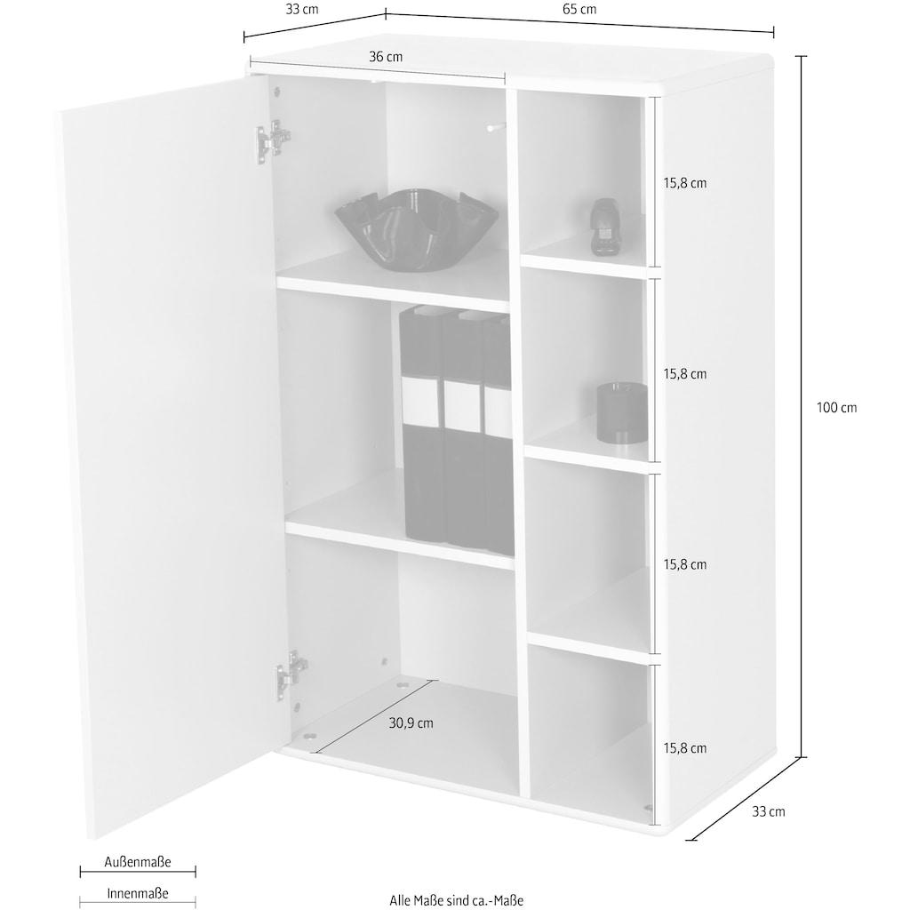TOM TAILOR Aktenschrank »COLOR OFFICE«, mit 1 Tür, Breite 65 cm