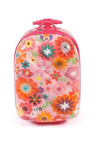 CHIC2000 Kinderkoffer »Bouncie, Flowers«, 2 Rollen, Hartschalen-Trolley kaufen