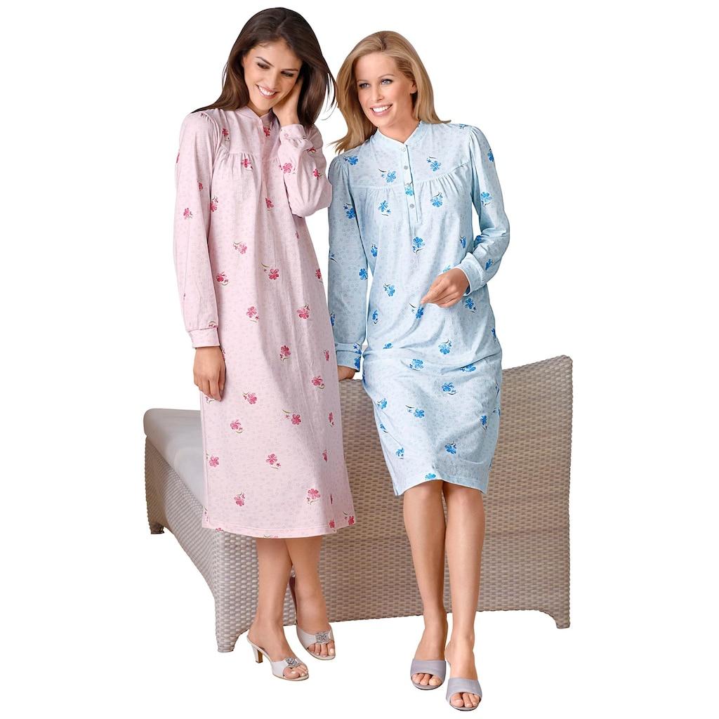 Ascafa Nachthemd »Langarm-Nachthemden«