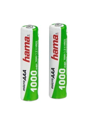 Hama Wiederaufladbare Batterien für schnurlose Telefone, 2xAAA kaufen