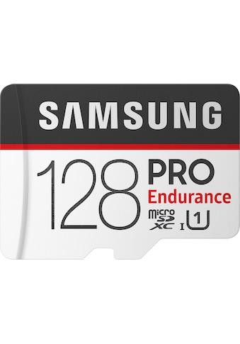 Samsung Speicherkarte »PRO Endurance microSD 128 GB«, ( Class 10 ) kaufen