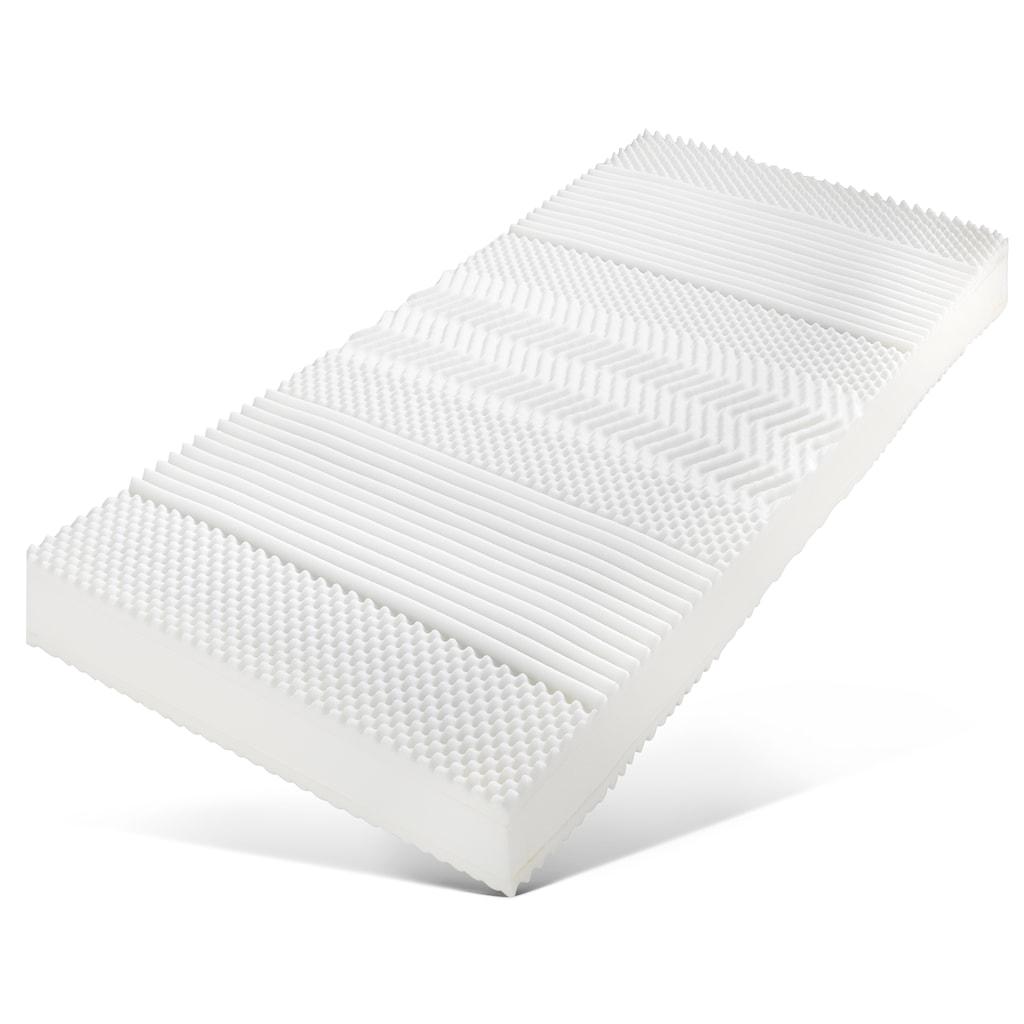 DELAVITA Boxspringmatratze »Luther Weiß«, 24 cm cm hoch, Raumgewicht: 40 kg/m³, (1 St.), bietet den perfekten Wohlfühlkomfort