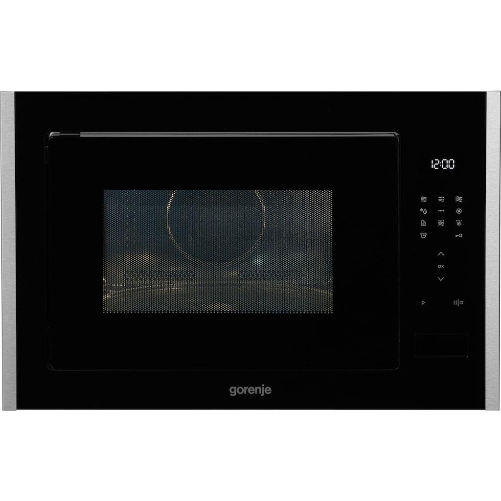 GORENJE Einbau-Mikrowelle »BM251S7XG«, Mikrowelle-Grill und Heißluft, 900 W