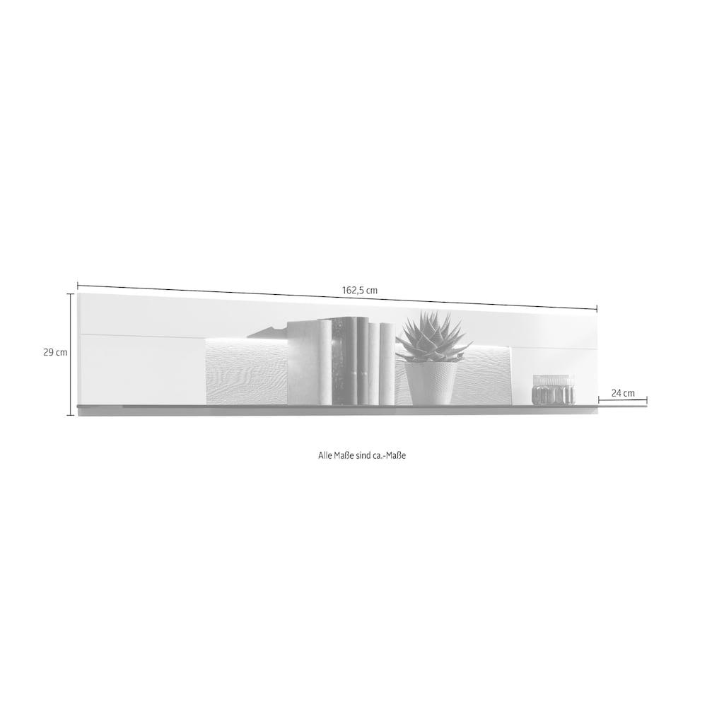 GWINNER Wandboard »Misano WI162«, Breite 162,5 cm, wahlweise mit Beleuchtung