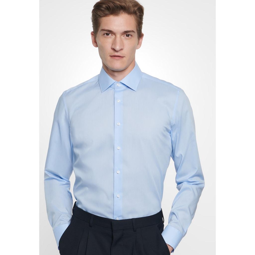 seidensticker Businesshemd »X-Slim«, X-Slim Langarm Kentkragen Uni