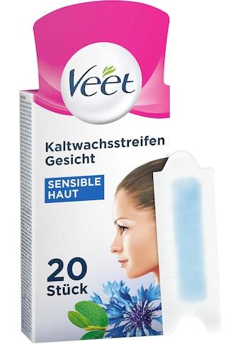 Veet Kaltwachsstreifen »Easy-Gelwax Gesicht«, für sensible Haut kaufen