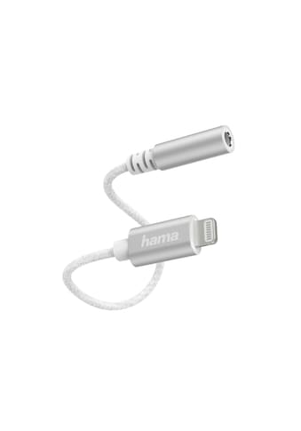 Hama Aux Kopfhöreradapter für iPhone/iPad, Klinke auf Lightning »Lightning auf 3,5 - mm - Buchse« kaufen