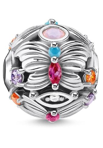 THOMAS SABO Bead »Schmetterling silber, K0341-342-7«, mit synth. Korund, Glassteinen... kaufen