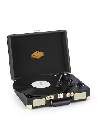 Auna Plattenspieler Stereolautsprecher USB - Anschluss schwarz/gold »Peggy Sue« kaufen